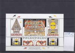 Palau Michel Cat.No. Mnh/** Sheet 474/481 - Palau
