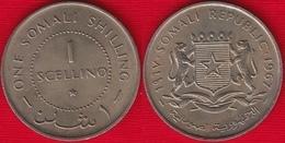 Somalia 1 Scellino 1967 Km#9 UNC - Somalia