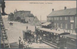 Fort Mahon Plage , Tram , La Gare , Animée - Fort Mahon