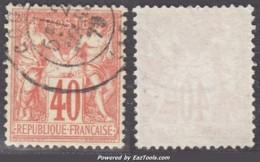 40c Sage Type I (N/B) Oblitéré TB Et Très Bien Centré (Y&T N° 70, Cote +++€) - 1876-1878 Sage (Type I)