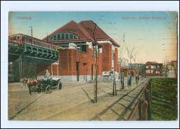 XX008832/ Hamburg Bahnhof Mundsburg AK 1913 - Duitsland