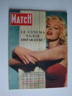 Paris-Match,1953,Marilyn Monroe,l'hélicoptère Pour La 1er Fois Sur Le Tour De France,Hollywood,Pampelune,Jeanne Moreau - Desde 1950