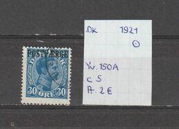 Denemarken 1921 - Yv. 150A - Michel PM 7 Gest./obl./used - 1913-47 (Christian X)