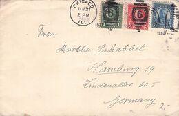 USA - MAIL 1927 CHICAGO - HAMBURG /ak781 - Vereinigte Staaten