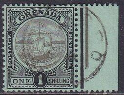 GRENADA 1911 SG 86 1sh Used Wmk Mult.Crown CA - Grenada (...-1974)