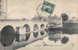 A-20-2911 : SAINT-AIGNAN SUR CHER. LE GRAND PONT SERIE MTIL - Saint Aignan