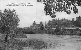 A-20-2918 : SAINT-AIGNAN SUR CHER. EGLISE ET CHATEAU. - Saint Aignan