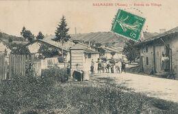 55) SALMAGNE : Entrée Du Village (1912) - Andere Gemeenten