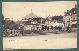 BOITSFORT BOSVOORDE- La Grand Place - Nels Serie 11 No 802 - Kiosque -fanfare - 2 Scans - Watermael-Boitsfort - Watermaal-Bosvoorde