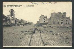 +++ CPA - Ruines De NIEUPORT - NIEUWPOORT - Guerre 1914-18 - Voie Auguste  // - Nieuwpoort
