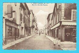 CPSM SAINT PALAIS Rue Du Jeu De Paume 64 Pyrénées Atlantiques - Saint Palais