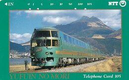 JAPAN - Train, Yufuin No Mori(391-047), Used - Treni