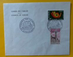 10521  - Conseil De L'Europe Europa Strasbourg 14.04.1973 - Francia
