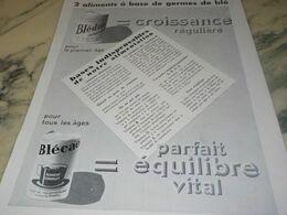 ANCIENNE PUBLICITE LA BLEDINE ET BLECAO  DE JACQUEMAIRE 1934 - Afiches