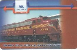 BULGARIA(chip) - Train 6, Mobika Telecard 300 Units, Tirage 50000, 01/01, Used - Treni