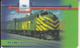 BULGARIA(chip) - Train 1, Mobika Telecard 25 Units(type 1), Tirage 10000, 12/00, Used - Treni