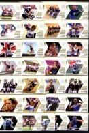 GRANDE-BRETAGNE - 2012 - YT N°3687/3715 NEUFS ** LUXE/MNH - J.O. LONDRES 2012 - Série Complète 29 Valeurs - Ungebraucht