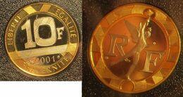 10 Francs 2001 BE - K. 10 Francs