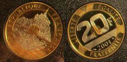 20 Francs 2001 BE - L. 20 Francs