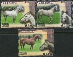 PARAGUAY 2019 Horse Breeds Of Paraguay Horses Animals Fauna MNH - Cavalli