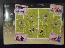 FRANCE BF 97 COUPE DU MONDE DE FOOTBALL** - Blocs & Feuillets
