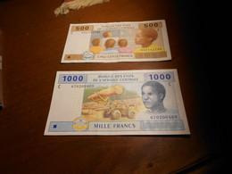 CIAD  -   2002   -   500  - 1000   -   FRANCS    Mamalepot -  Aleka-Rybert    SIGNED  -. - Ciad