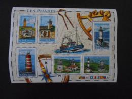 FRANCE YT BF114 LES PHARES** - Blocs & Feuillets