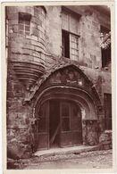 Lot : FIGEAC : Hôtel Du Figuier : - C.p.s.m. Photo. Véritable - ( Au Dos Tampon Perlé - Chérroux - Corrèze ) - Figeac