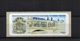 Féderation Française Des Associations Philateliques 83e Congres Paris 2010 €0.56 - 2010-... Illustrated Franking Labels