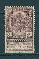 1777 Voorafstempeling Op Nr 55 - BRASSCHAET 1912 -  Positie B - Precancels