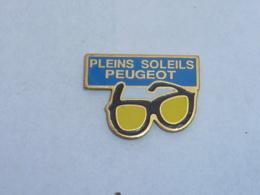 Pin's PLEINS SOLEILS PEUGEOT - Peugeot
