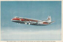 TCA'S Turbo-Prop Viscount Skyliner Le Viscount A Turbo-Propulseurs D'Air Canada - 1946-....: Modern Era