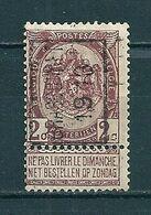 2079 Voorafstempeling Op Nr 55 - BRASSCHAET 1913 -  Positie A - Precancels