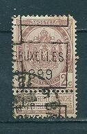 241 Voorafstempeling Op Nr 55 - BRUXELLES 1899 -  Positie C (zie Opm) - Precancels
