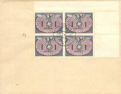 MiNr.D13 4rer ER  Auf Cover 30.5.1940 Besetzg.WK II. Generalgouvernement Dienstpost - Officials