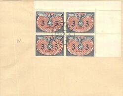 MiNr.D14 4rer ER  Auf Cover 30.5.1940 Besetzg.WK II. Generalgouvernement Dienstpost - Officials