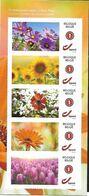 """Belg. 2020 - Beauté Florale """"Fleurs D'été"""" ** (5 Timbres Auto-adhésifs) - Ungebraucht"""