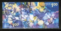 CEPT 2001 UA MI 444-45 USED UKRAINE - 2001