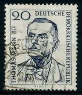 DDR 1956 Nr 534 Gestempelt X8BEBB2 - [6] República Democrática