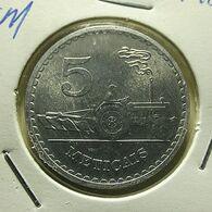 Moçambique 5 Meticais 1980 - Mozambique