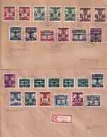 POLAND 1940 General Governement Complete Overprints - 1939-44: 2. WK