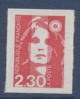N° 1 Marianne Du Bicentenaire Auto Adhesif  Faciale 2,30 F - Luchtpost