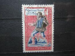 "VEND BEAU TIMBRE DE FRANCE N° 1332 , OBLITERATION "" SAINTE-ADRESSE "" !!! (a) - Used Stamps"