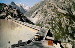 Grimsel-Pass - Seeuferegg-Staumauer, Grimsel-Hotel (8189) - Postautobus - BE Berne