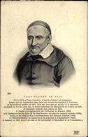 Artiste Cp Saint Vincent De Paul - Historical Famous People