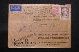 FINLANDE - Enveloppe Commerciale De Helsinki  Pour La France En 1959 - L 71254 - Lettres & Documents