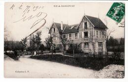 X78009 ILE RANGIPORT Gargenville Yvelines Cafe Billard 07.08.1940 à DECAUD Rue Letellier Paris-Collection L.V - Gargenville