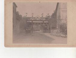 PHOTO SUR CARTON AVENT 1900 FORMAT 13X20ARCDE TRIOMPHE MIRECOURT - Frankreich