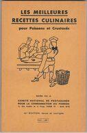 Ancien Petit Livre Les Meilleurs Recettes Culinaires Pour Poissons Et Crustacés - 1966 - Gastronomie