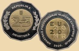 Croatia 25 Kuna 2020 - Croazia